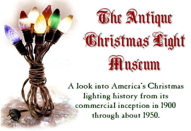 the antique christmas lights site - Antique Christmas Lights
