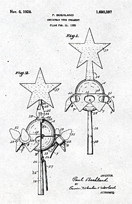 Electrical Ornamental Device And Decoration Patents